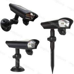 Güneş Led Dış Aydınlatma Spot PIR Hareket Sensörü Işık Yeraltı Çim Bahçe Ev Garaj Acil Lamba Güvenlik Sokak Işık DHL cheap home security pir motion sensor nereden ev güvenlik pir hareketi sensörü tedarikçiler