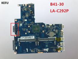 x58 motherboards Rabatt KEFU Motherboard für Lenovo B41-30 Laptop Motherboard AIWB0 B1 LA-C292P mit CPU getestet versandkostenfrei