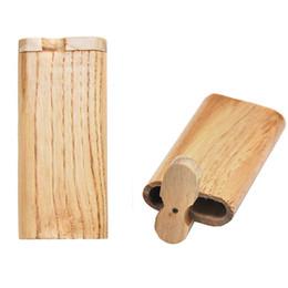 Lojas de cigarros on-line-Caixas de Cigarro Material de madeira Caso de Reserva Caso Casos de Caixa De Tubo De Proteção Submetral Caso Multi Função de Alta Qualidade