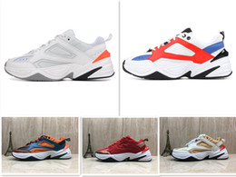 916668112d56 2019 спортивная профессиональная обувь Оптовая M2K Tekno старые мужчины  Спорт кроссовки для мужчин Женщины кроссовки тренеры