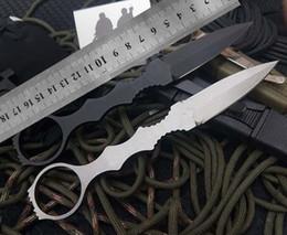 couteaux de chasse tranchants Promotion Couteau de chasse TopSelling à lame fixe de camping Dagues à lame tranchante avec gaine K Couteau de survie tactique camping