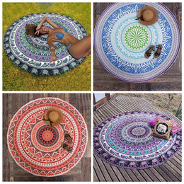 Parete del pannello esterno online-Mandala Tapestry Wall Tapestry Wall Hanging Coperta Indian Summer Beach Wirt Wirt Tovaglie