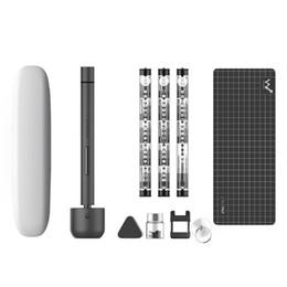 tapón de plástico impermeable Rebajas Wowstick 1F Pro Mini destornillador eléctrico Recargable Destornillador eléctrico de potencia Juego de destornillador con luz LED Funciona con pilas de litio