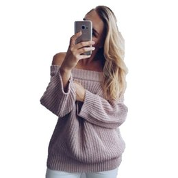 ec3616f8bd thick knitting needles Coupons - Autumn 2019 Thick Needle Pullover Knitted  Sweater Women Winter Sweater Pullover