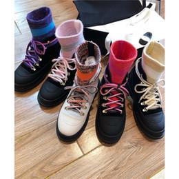 Ms fersen online-2019 neuen Designer-Frau kurzer Stiefel, Damenlederstiefel, Mode klobige Fersen 2cm Aufladungen, für Fashion Lady Socken Stiefel, Größe 35-40