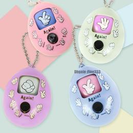 Dito dei dadi online-Finger-Guessing Gioco Toy Keychain Mora Gioco Catena di portachiavi in plastica a sollievo dallo stress divertente Migliore regalo per i bambini