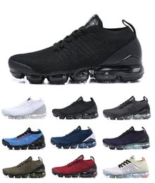 white knit fabric Coupons - AIR 2019 Designer Shoes Running Women Men Mercurial Plus Ultra SE Knit run utility Trainers Triple Black Outdoor Sneakers Sports Shoes 36-45
