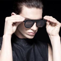 1b35fc6549 hipster frames Canada - Newest luxury round sunglasses men women vintage  brand designer metal frame retro