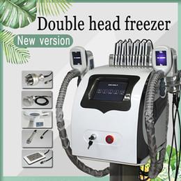 crio laser Rebajas 5 EN 1 crioterapia Congelación de grasa que adelgaza la máquina Máquina de crio facial con láser Lipo Lipo Lipo de Liposucción RF Cool Cryo