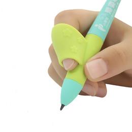 Silicone Pencil Grip Per bambini Finger-Holder Pencil Holder Primary School Students cancelleria correttore per afferrare la penna riordinatore penna da