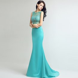 5af8255602cf High-End Custom Mermaid Long Tail Formal Evening Dresses Round Neck  Hand-Made Pintail Fishtail Party Prom Dresses DH40