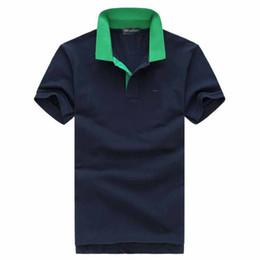 Más el tamaño de marca camisetas online-2019 Plus G 2XL Tamaño eden Camisas polo bordadas Hombres meduse Diseño de moda Mangas cortas marca Stretch Polos Top sale park camiseta