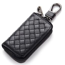 gebrauchtwagenschlüssel Rabatt 2019 neue stricken unisex autoschlüssel halter geldbörsen täglichen gebrauch männlich brieftasche für schlüssel tragbare brieftaschen frauen weben haushälterin brieftasche