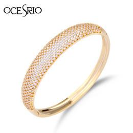 regalos de boda dubai Rebajas Ocesrio diseñador de la marca de lujo de oro brazalete Dubai boda brazalete brazaletes pulseras pequeños regalos para mujeres Brt-a56 C19041302