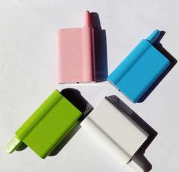 2019 ss dual battery mod Mais barato de alta qualidade mini vape e cigarro Mibox com 400 mAh bateria vaporizador de bobina de cerâmica para óleo grosso caneta vape bateria em estoque