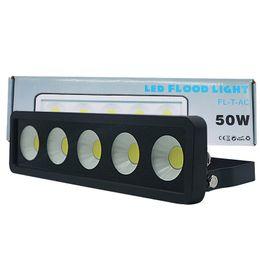 2019 lumières de stationnement led Projecteur LED principal AC185-285V 50W 100W 150W 200W 250W 300W Projecteur étanche LED pour éclairage de parc paysager promotion lumières de stationnement led