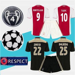 coups de foot Promotion Kit de maillots de football de l'Ajax 2019 maillots de maillot de football FC 2019