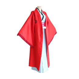 Anime kimonos rojo online-Fukigen na Mononkean El Morose Mononokean Haruitsuki Abeno Kimono rojo Set Cosplay Disfraces Fiesta de Halloween Desgaste por encargo