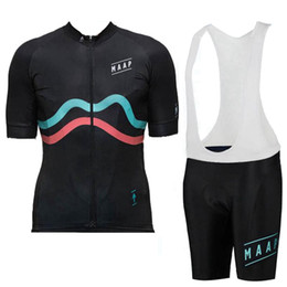 6xl cycling jerseys Coupons - 2019 MAAP Cycling Jersey Bib Pants set Short Sleeves Summer Style Men MTB Ropa Ciclismo Quick Dry Bike Wear XXS-6XL 9 Colors Y070803