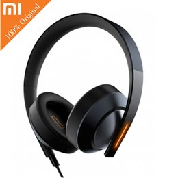 Giochi virtuali online-Xiaomi Mi 7.1 Virtual Surround Sound Game Cuffie Noise Cancelling Controllo vocale Over-ear LED Strips Gaming Headphones