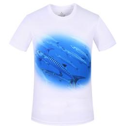Уф-защитная одежда онлайн-Лето Мужчины Женщины Рыбалка Футболка С Коротким Рукавом Открытый Рыбалка Футболка Quick Dry Дышащий Anti UV Защита от Солнца Джерси Одежда
