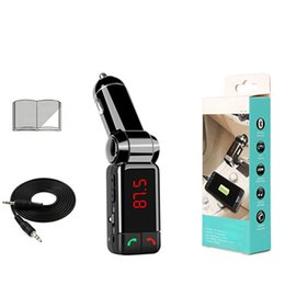 cigarette bluetooth Promotion BC06B voiture pour lecteur MP3 Bluetooth chargeur USB voiture accessoires pour chargeur de cigarette automobile transmetteur FM camion avec paquet de vente au détail