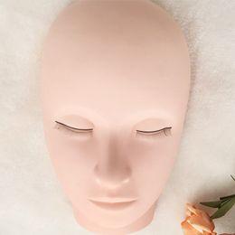 Maquillaje maniquí cabezas online-Cabeza de maniquí Maquillaje Formación profesional Cabeza de maniquí Extensiones de pestañas planas planas Modelo de práctica para pestañas G-EASY