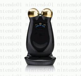 2019 blu macchina palle Massima qualità Nuface Trinity PRO Face Massager Beauty 22K Gold Edition oro nero con pacchetto di vendita al dettaglio e DHL di qualità superiore