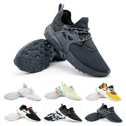 shoes flat feet men Coupons - Classic Presto Mid Epic React Men Women Running Shoes Comfortable Foot Feel Mesh Breathable Sneakers Black White Casual Shoes