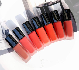 Famoso pintalabios online-Famosa marca de maquillaje Tinta Velvet Tube Mate Lápiz labial 8 colores 140 146 154 Lipgloss Maquillaje de mujer Lápices labiales líquidos de larga duración
