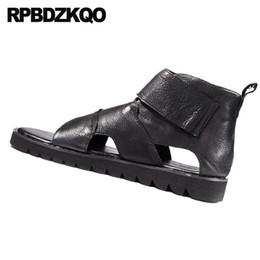 2019 sapatos baixos japoneses Botas frete grátis italiano japonês romano preto liso casual 2018 sapatos respirável homens sandálias gladiador verão couro genuíno de alta qualidade sapatos baixos japoneses barato