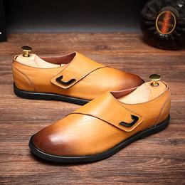 f189628c4fd4 mens purple dress shoes Rabatt Four Seasons Mens Echtes Leder Schuhe  Schwarz Lila Braun Hohe Qualität
