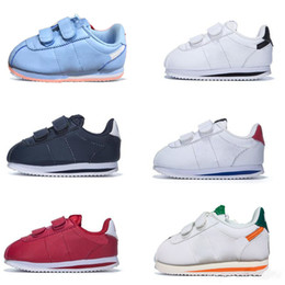 2020 zapatillas cortez  Cortez Basic SL TDV Kids Running Shoes White black New Born Baby Sneakers Infant Run Children sports shoes outdoor Small & big kid Trainers zapatillas cortez  baratos