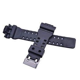 2019 sangle de résine Bracelet en montre de remplacement en résine naturelle pour bracelet de montre homme GD120 / GA-100 / GA-110 / GA-100C sangle de résine pas cher