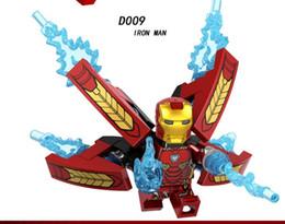D009 Мстители Железный Человек MK50 супер герой серии собраны строительные блоки дети супергерой мультфильм игрушки бесплатная доставка от Поставщики супер ангелы