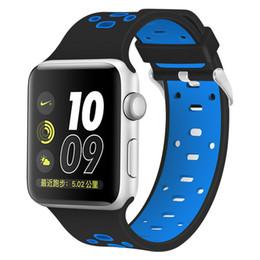 Correa para la muñeca con banda de reemplazo de silicona para el reloj de Apple (Serie 1/2/3 4) desde fabricantes