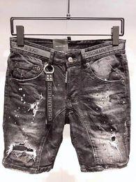 più jeans designer di dimensioni Sconti mens designer shorts pour hommes Plus Size 44-54 Jeans strappati Causal Men Jeans Straight Pants Mens Short Knee Homme