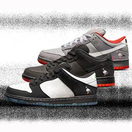 new styles 19c83 55b06 SB Dunk Low Jeff Staple Panda Pigeon 3.0 Black White Skateboarding Mens  Women Shoes Lobster Diamond Casual Running Trainers Sport Sneakers