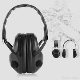 Argentina Black TAC 6s Anti-ruido Tactical Shooting Auriculares Deporte Caza Orejera Auriculares Plegable cheap earmuff headset Suministro