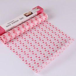 Canada 5M Emballage Alimentaire Cire Papier Pain Sandwich De Bonbons Gâteau Wrapper Cuisson Outils En Gros Livraison Gratuite QW9098 supplier wholesale sandwich paper Offre
