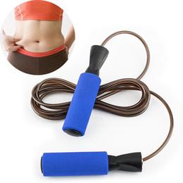 2019 equipamento de ginástica gratuito Aptidão profissional-livre de treinamento de Atletismo Ajustável Ergonomia Equipamentos de Ginástica Fio de Aço Pulando Corda de Salto Treino desconto equipamento de ginástica gratuito