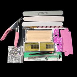 2019 kit de decoración de arte de uñas Acrílico Nails Art Manicure Kit 12 Color Nail Glitter Powder Decoración Acrylic Pen Brush Falso dedo bomba Nail Art Kit de herramientas conjunto kit de decoración de arte de uñas baratos
