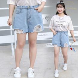 2019 kleider plus größe jeans Frauen Kleid 2019 Sommer Jeans Shorts Plus Size Frauen Jean Shorts Hosen Loch Aushöhlen Casual günstig kleider plus größe jeans