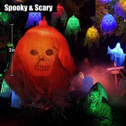 home decor house parties Coupons - 3m 20 Led lights Happy Halloween Decorations Skull LED String Lights Horror Home Decor Pumpkin Haunted House Decor Event Party string lights