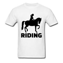 nuove ragazze moderne della maglietta Sconti Nuova maglietta da uomo Finlandia Horse Riding Girl Club Magliette Big Size Blu scuro Grafica moderna T-shirt per uomo giovane Buona T-shirt
