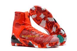 Pas cher vente kobe 9 haut tissage BHM / Pâques / chaussures de basket-ball de qualité supérieure pour les hommes de qualité KB 9s formateurs baskets de sport taille 40-46 x07 ? partir de fabricateur