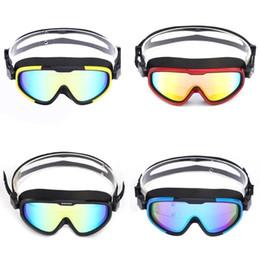 838d9fd56 3 cores opcionais unisex óculos de natação grande quadro HD wide field  óculos de natação anti-fog à prova d  água chapeamento máscara