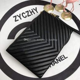 Мода V волна шаблон кошелек на молнии чемодан черный кошелек карты сумка кошелек мужской кожаный держатель для паспорта дизайнер Damier Ebene c от