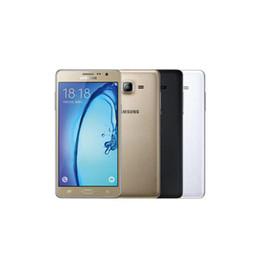 Samsung Galaxy On7 G6000 4G LTE-Handy-Viererkabelkern 16 GB 5,5 Zoll Bluetooth WIFI 13.0MP Dual-SIM-SIM-Lock entriegeltes refurbished-Mobiltelefon von Fabrikanten