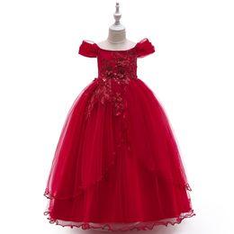 2019 vestidos de casamento saia de pétala vestidos da menina nova saias longas funda uma palavra pétala ombro princesa festa vestido fêmea do casamento vestidos de casamento saia de pétala barato